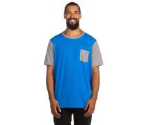 50/50 Solid Pocket T-Shirt blau