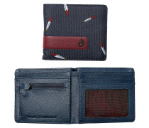 Showdown Bi-Fold Zip Geldbörse blau