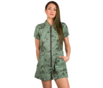 Charlie Romper Overall sage multi