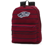 Realm Backpack tibetan red stripe