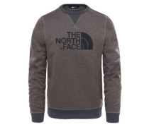 Mc Drew Peak Crew Sweater falcon brown dark heather