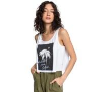 Mid Sleeve Crop T-Shirt