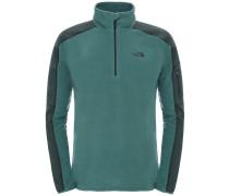 Glacier Delta 1/4 Zip Fleece Pullover grün