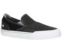Wino G6 Slip-On Skate Shoes black