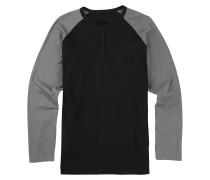 Process Henley T-Shirt schwarz
