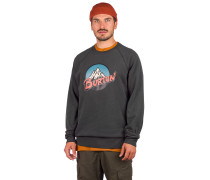 Retro Mountain Crew Sweater
