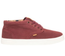 Preston Shoes napa red