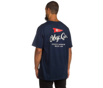 Nautical T-Shirt blau