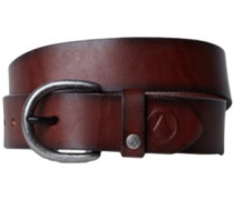 Hombre Leather Belt brown
