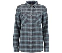 Modern Check Hemd blau