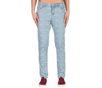 Burnin Jeans vintage light blue