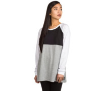 Beloved Becca T-Shirt LS grey white