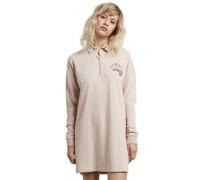 Pique Boo Dress mushroom