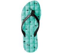 Recliner Sandalen Frauen blau