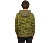 Bag-It Hoodie green furry camo