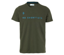5 No Shortcuts T-Shirt alpine green