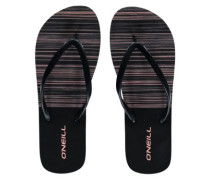 Moya Marble Foam Sandals Women black out