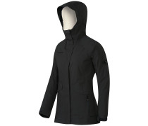 Trovat Advanced Hooded Softshell Jacke grau