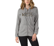 Authentic Zip 2 Hoodie grau