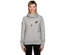 Debil mit Stil II Sweater grey melange