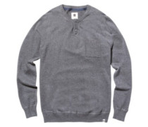 Abstract Pullover charcoal heathe
