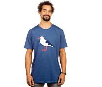 Gull T-Shirt blau