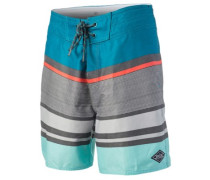 "Layday Rapture 18"" Boardshorts teal"