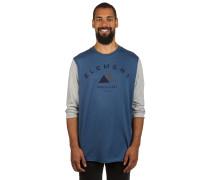Hartland Crew T-Shirt LS blau