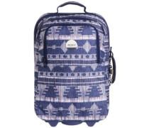 Wheelie Travelbag akiya combo blue print