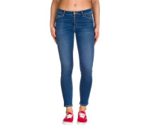 Anny Ankle Jeans blau