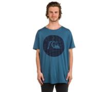 Garment Dye Circle Bubble T-Shirt indian teal