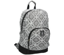 Schoolyard Canvas Backpack black