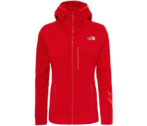 Incipent Hooded Outdoor Jacket high risk red