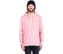 Bar Logo Overdyed Pullover Hoodie rose