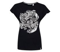 Graphic T-Shirt schwarz