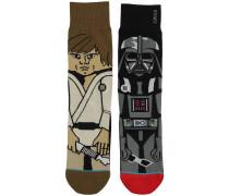 Force Star Wars Socken schwarz