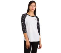Ditsy Floral Raglan T-Shirt weiß