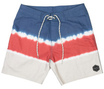 "Cast Away 18"" Boardshorts rot"