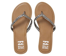 Beach Braid Sandals Women pewter
