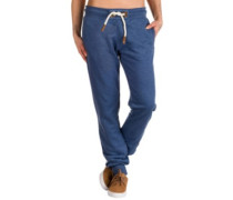 Deine Muttaaa Jogging Pants blue melange