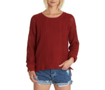 Voyage Pullover red dalhia