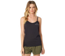 Bolt Tank Top black vintage