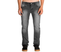 K Slim Jeans double stoned black