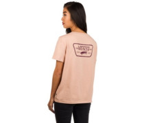 Full Patch Crew T-Shirt mahogany rose