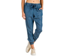 Ines Beach Pants chambray