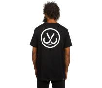 Hooks T-Shirt schwarz