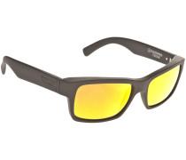 Fulton Black Satin Sonnenbrille schwarz