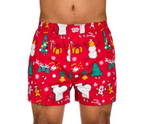 Merry Merry Boxershorts red