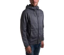 Therma Protect Zip Hoodie dark grey