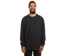 Icon Crew Fleece Sweater schwarz